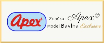 Apex® model bavlna EXCLUSIVE