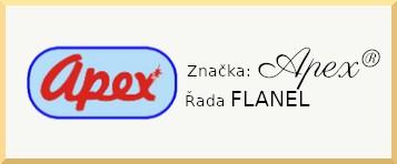 Apex® produktová řada Flanel